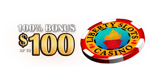 $100 Welcome Bonus at Liberty Slots Casino